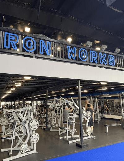 iron works gym in biloxi