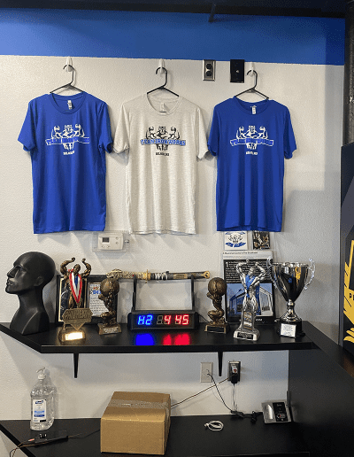 gym display